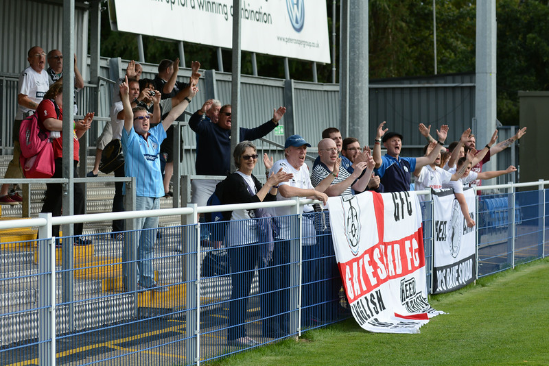 It finishes 2-2 and Gateshead fans seem happy with a point