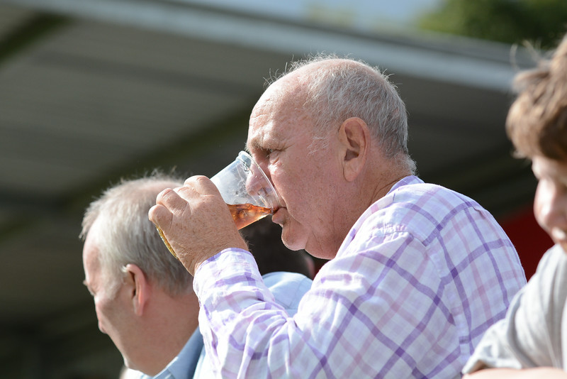 A cold drink at Half time