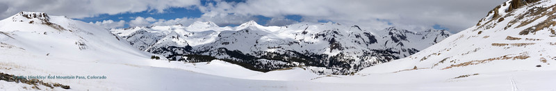 Skiing east side of Red Mountain Pass. Photo - Mike Hinckley