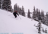Backcountry ski at Second Creek, Berthoud Pass, with Mark S. and Amber W.