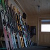 2015 Fowler Hillard hut backcountry ski.