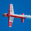 Team Oracle pilot John DeGennaro performing at the 2017 Vectren Dayton Air Show.