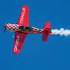 Team Oracle pilot John DeGennaro thrills the crowd at the 2017 Vectren Dayton Air Show.