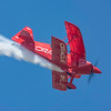 Sean D Tucker with smoke on, performs his world champion aerobatics at the 2017 Vectren Dayton Air Show.