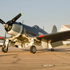 F4U-5 Corsair on the flight line at the 2013 Wings Over Houston Air show, October 26-27, 2013<br /> This image is sized at 2x3