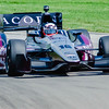 James Jakes  pilots the  #16 Acorn RLL Honda through the Esses at the Mid-Ohio Sorts Car Course in Lexington, Ohio; during practice for the 2013 Honda Indy 200.<br /> <br /> James finished 13th