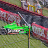 Driver James Hinchcliffe, driving the #27 Go Daddy Andretti Chevrolet loses control entering the Carousel at the Mid Ohio Sports Car Complex during practice for the Honda Indy 200.<br /> <br /> Image 5 of 6 in the crash sequence.<br /> <br /> James finished in 10th place