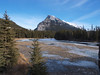 Mt Rundle<br /> Bow River<br /> Banff, Alberta<br /> Banff National Park