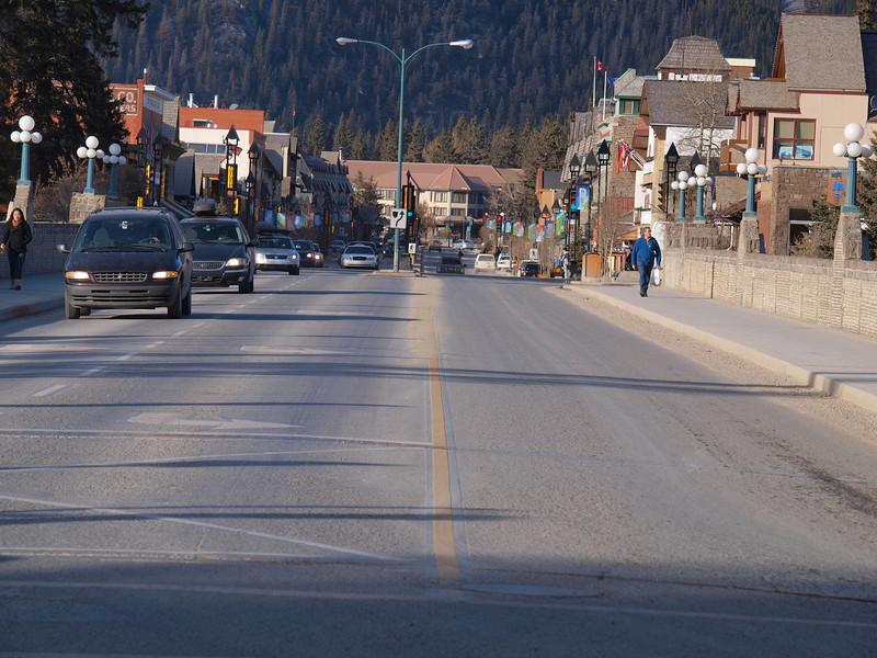 Bow River Bridge<br /> Banff Avenue<br /> Banff, Alberta