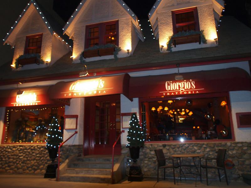 Giorgio's Trattoria<br /> Banff Avenue<br /> Banff, Alberta