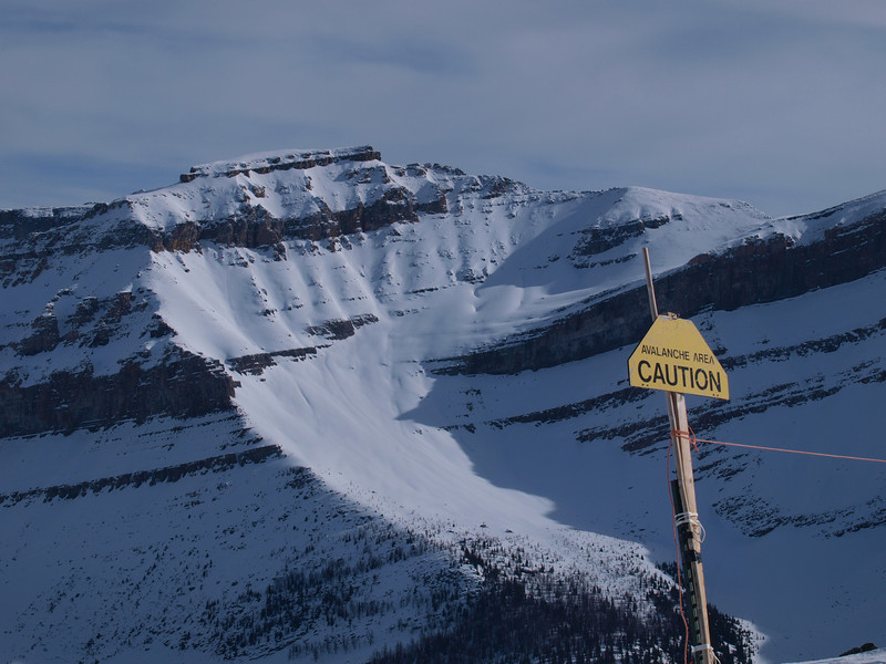 Redoubt Mountain<br /> Backside backcountry<br /> Lake Louise Ski Area<br /> Banff National Park<br /> Alberta, Canada
