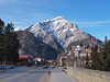Cascade Mountain<br /> Bow River Bridge<br /> Banff Avenue<br /> Banff, Alberta