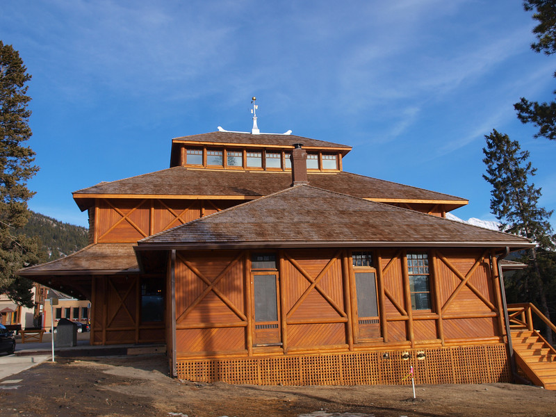 Banff Park Museum<br /> Banff Avenue<br /> Banff, Alberta