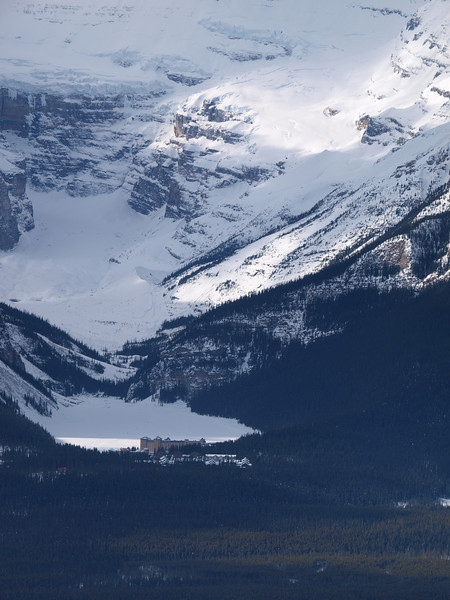 Chateau Lake Louise<br /> Lake Louise<br /> Mount Victoria<br /> Banff National Park
