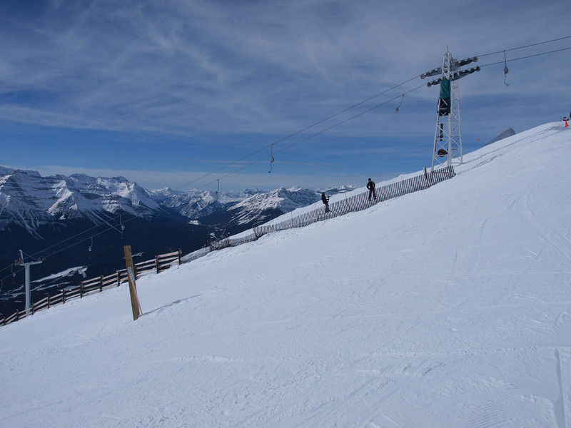 Summit Platter lift<br /> Mount Whitehorn<br /> Lake Louise Ski Area<br /> Banff National Park<br /> Alberta, Canada