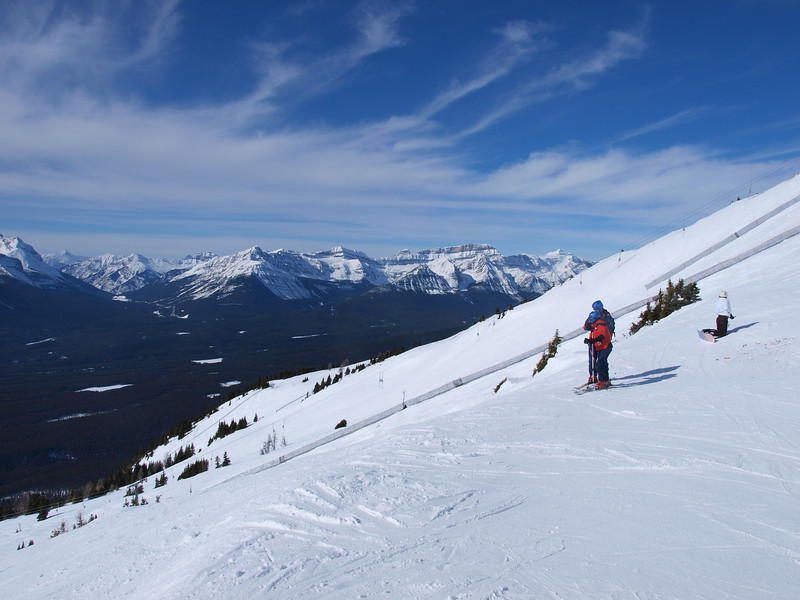 Front Side<br /> Lake Louise Ski Area<br /> Banff National Park<br /> Alberta, Canada