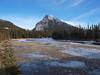 Mt Rundle<br /> Bow River<br /> Banff, Alberta<br /> Banff National Park