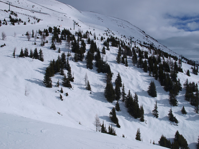 Front Side, South Face<br /> Lake Louise Ski Area<br /> Banff National Park<br /> Alberta, Canada