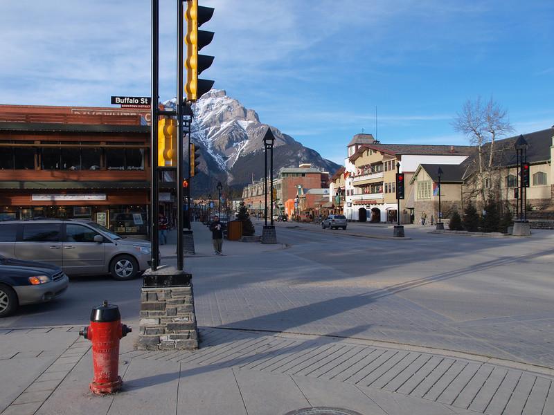 Banff Avenue<br /> Banff, Alberta
