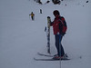 The one-skied walking man returns to his other ski in Upper Dry Creek. (Don't brakes work?) Scene 2<br /> <br /> 20130202