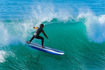 1-17-15 Surf Pismo Beach Pier
