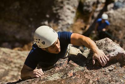 11-17-14 Climbing Pinnacles NP