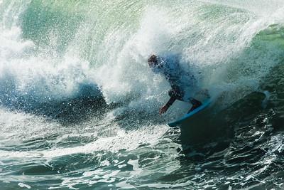 12-21-14 Surf Pismo Beach pier