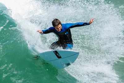 150731 Surf Pismo Beach Pier