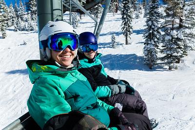 160201 Snowboard North Lake Tahoe
