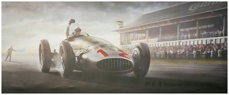 Rudolf caracciola winning at Nurbergring Germany in 1939