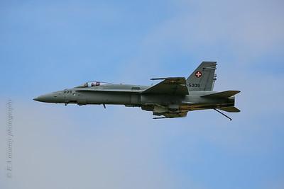Swiss F18  pilot view