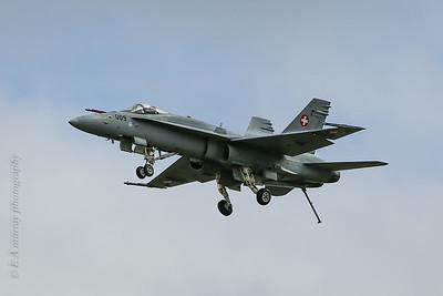 Swiss F18 landing gear