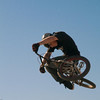 "<h3>High flying rider at ""The Compound"" at Lake Perris."
