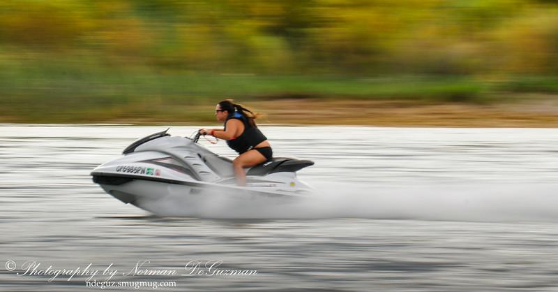 High speed jet-skiing
