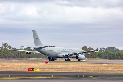 Royal Air Force Airbus KC2 Voyager A330-243MRTT ZZ338 Rockhampton Airport 30-05-2019