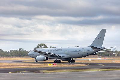 Royal Air Force Airbus KC2 Voyager A330-243MRTT ZZ338 Rockhampton Airport 30-05-2019