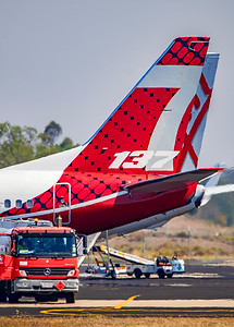 NSW Rural Fire Service 737 Water Bomber