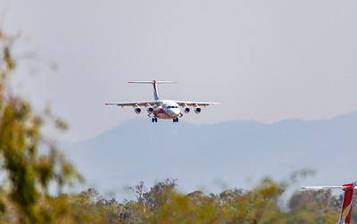Conair Aviation British Aerospace Avro RJ85 C-GVFT at Rockhampton Airport