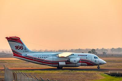 Conair Aviation British Aerospace Avro RJ85 at Rockhampton Airport
