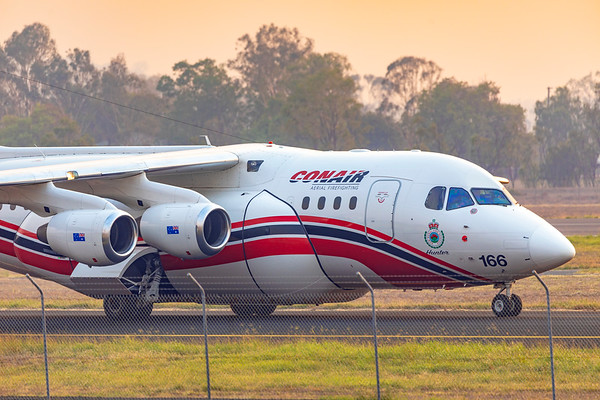 Conair Aviation British Aerospace Avro RJ85 at Rockhampton Airport