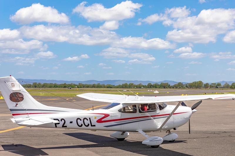 Cessna T182T Turbo Skylane P2-CCL at Rockhampton Airport