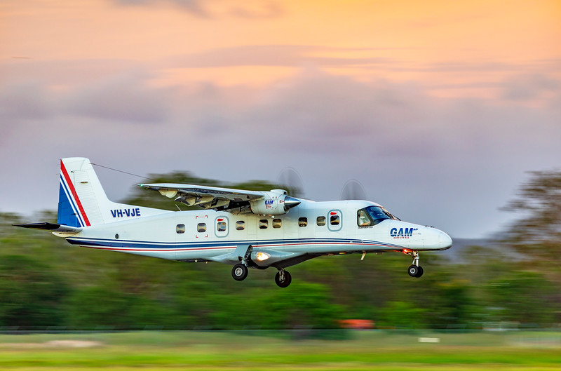 General Aviation Maintenance Dornier 228 Landing at Rockhampton Airport