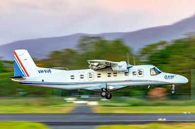 General Aviation Maintenance Dornier 228 Landing at Rockhampton Airport