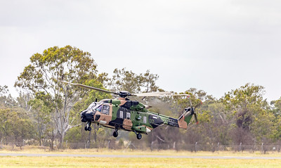 Royal Australian Army MRH90 Taipan A40-001 at Rockhampton Airport 04-02-19