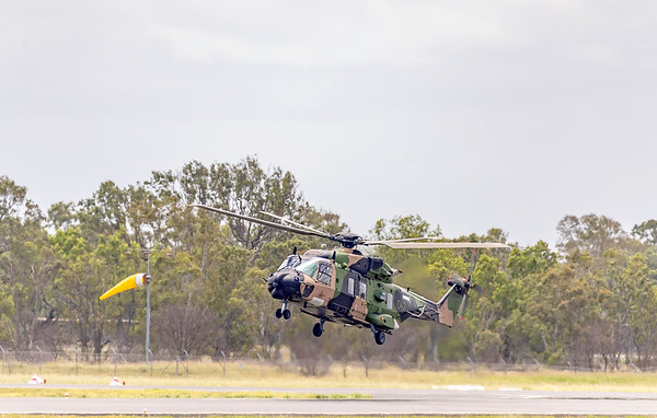 Royal Australian Army MRH90 Taipan A40-042 at Rockhampton Airport 04-02-19