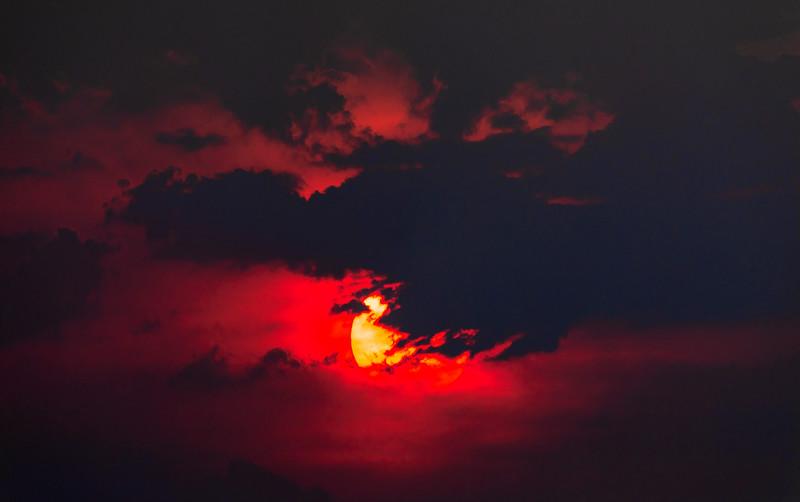 Sunset at Rockhampton Airport