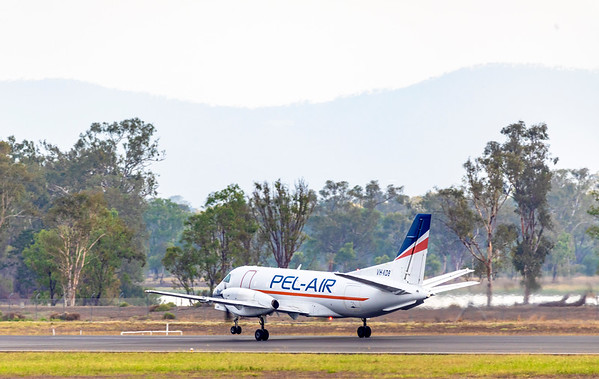 SAAB Fairchild 340A VH-KDB at Rockhampton Airport