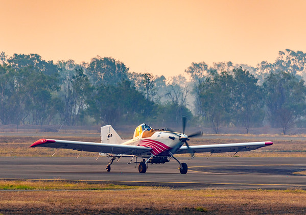 Central Highlands Thrush S2R-T660 at Rockhampton Airport
