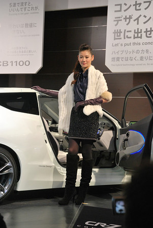 The Nagoya Motor Show is the showcase for the latest car technology and gadgets, especially in the area of car navigation system.