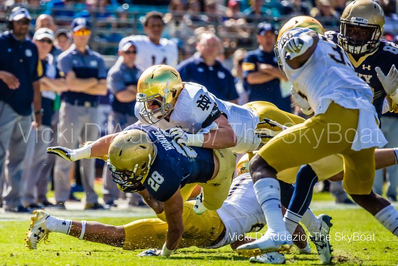 November 5, 2016 - Navy vs Notre Dame